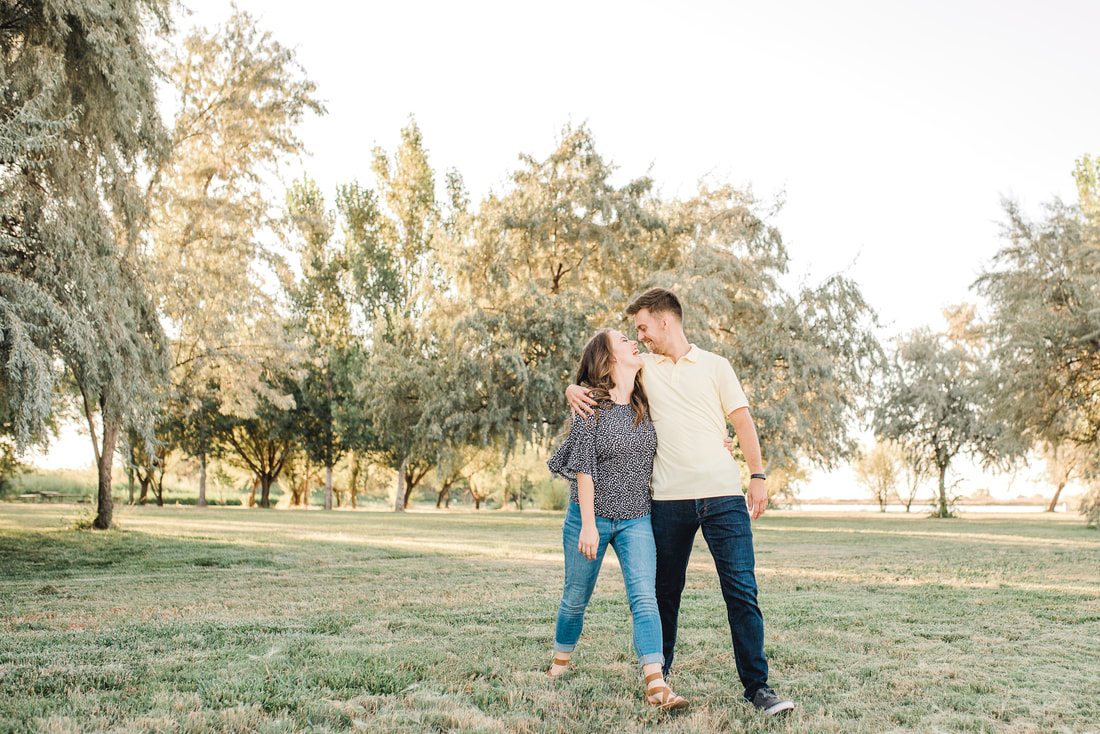 Bountiful Pond Engagement Photos Flying Gull Photography