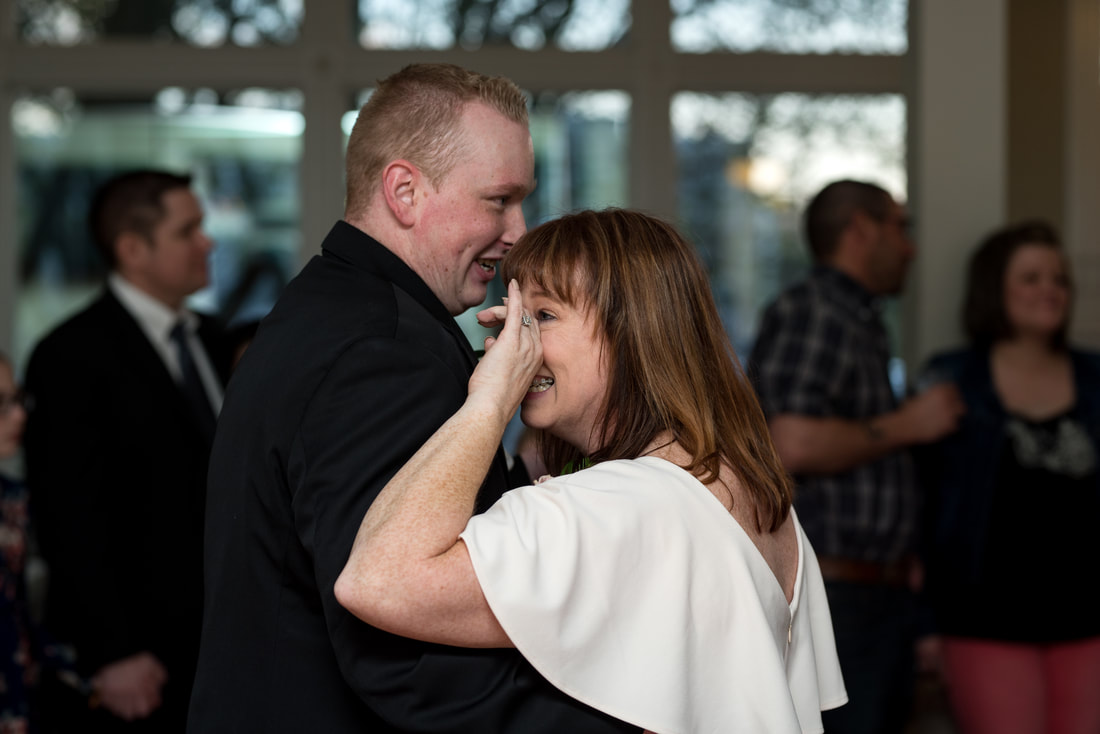Mother-son dance at wedding